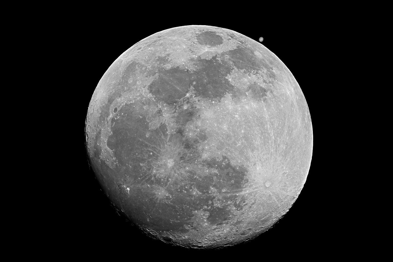Moon , Moon with Stars ,